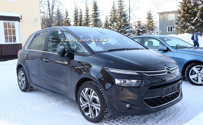 Citroen-C4-Picasso-2014-spy-photos