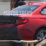 2015-BMW-M235i-rear-spied-1
