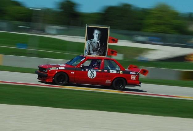 24-Hours-of-LeMons-Enver-Hoxha-themed-BMW-E30-Team-at-Road-America-5-626x426