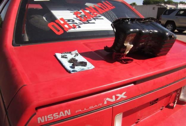 24-Hours-of-LeMons-Nissan-Pulsar-at-Road-America-626x426