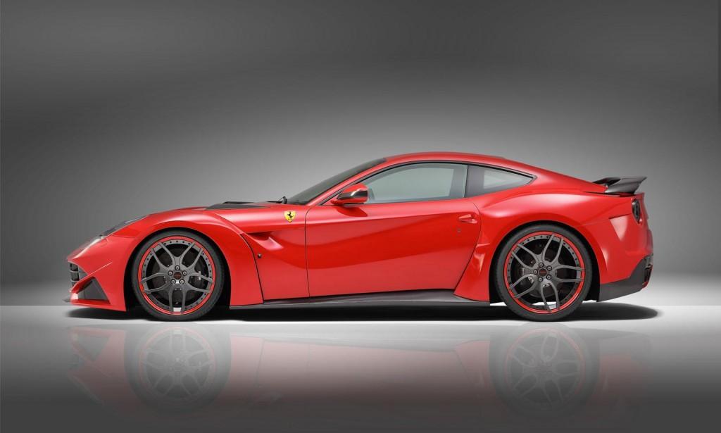 CARS \u0026 GIRLS Novitec Rosso Builds Wide,Body Ferrari F12